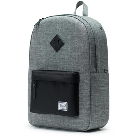 Herschel Heritage Backpack Unisex, raven crosshatch/black